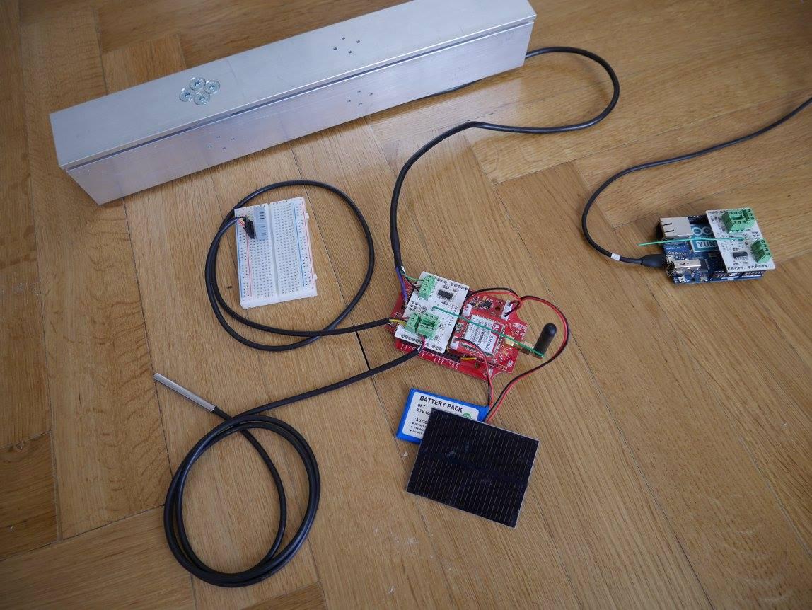 Open Hive Seeeduino Stalker Kit