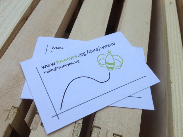 Clemens made some business cards for us. Thanks!